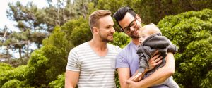 same-sex couple with child; blog: fertility options for same-sex couples